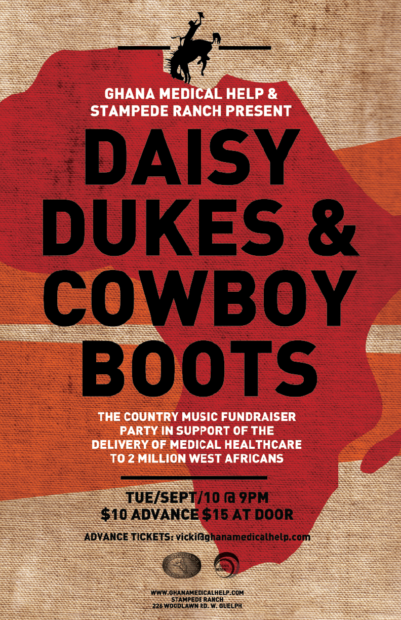 Sept 10 @ The Stampede Ranch – Daisy Dukes & Cowboy Boots, a Fundraising Event